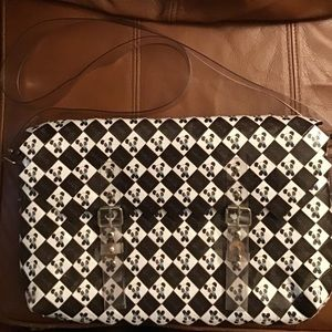 Handbags - Recycled Panda Messenger Bag